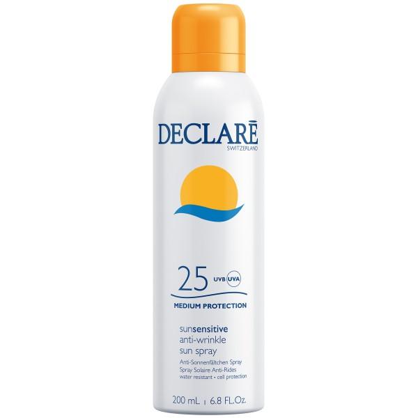 SunSensitive Anti-Wrinkle Sun Spray SPF 25 Apsauginis purškiamas losjonas nuo saulės, 200ml