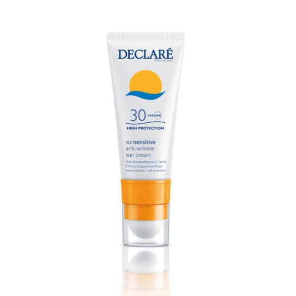 SunSensitive Anti-Wrinkle Sun Cream SPF30 Apsauginis pieštukas-kremas nuo saulės, 20ml