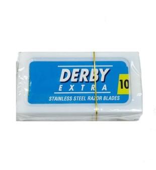 Derby Extra Stainless Steel Dviašmeniai skutimosi peiliukai, 10 vnt. | inbeauty.lt