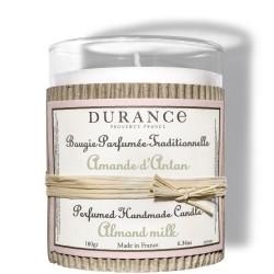 Perfumed Handmade Candle Almond Milk Rankų darbo kvapni žvakė, 180g