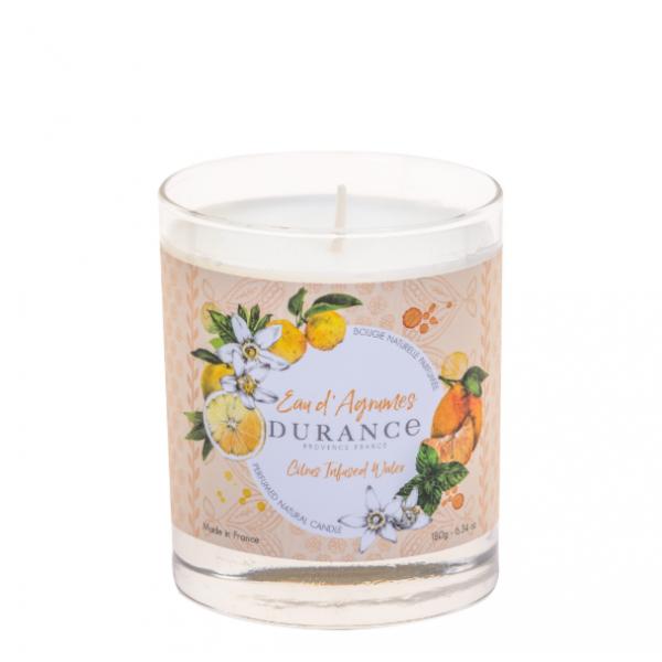 Perfumed Candle Citrus Infused Water Rankų darbo kvapni žvakė, 180g