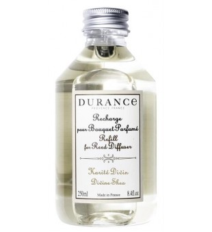 Durance Refill for Reed Diffuser Divine Shea Namų kvapo papildymas, 250ml | inbeauty.lt