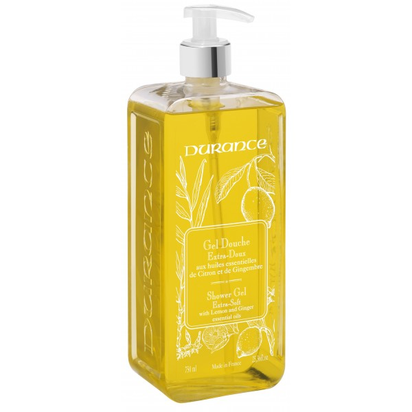 Shower Gel With Lemon And Ginger Essential Oils Dušo gelis, 750 ml