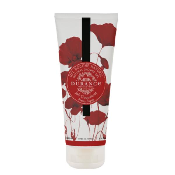 Natural Shower Gel Pretty Poppyl Dušo gelis, 200 ml