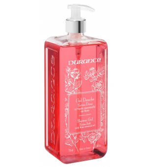 Durance Shower Gel With Rose Essential Oil Dušo gelis, 750 ml | inbeauty.lt