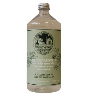 Durance Dish Washing Detergent With Essentials Oils Cypress Rosemary Indų ploviklis, 1 l | inbeauty.lt