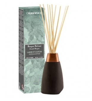 Durance Scented Bouquet Wool & Cotton Namų kvapas, 120 ml | inbeauty.lt