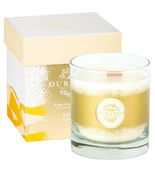 Durance Perfumed Natural Candle Frosted Apple Rankų darbo kvapni žvakė, 280g | inbeauty.lt