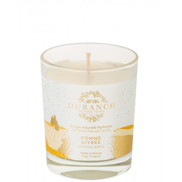 Perfumed Natural Candle Frosted Apple Rankų darbo kvapni žvakė, 75g