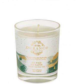Durance Natural Perfumed Candle Under The Pine Tree Rankų darbo kvapni žvakė, 75g | inbeauty.lt