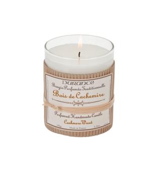 Durance Perfumed Handmade Candle Cashmere Wood Rankų darbo kvapni žvakė, 180g | inbeauty.lt