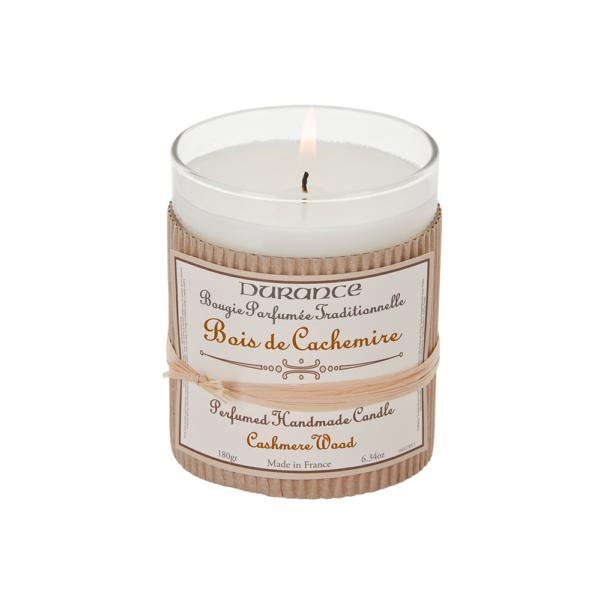 Rankų darbo kvapni žvakė – Cashmere Wood, 180g