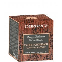 Coffe & Croissant Handmade Fragrant Candle Rankų darbo kvapni žvakė, 190g