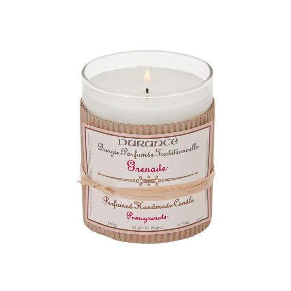 Perfumed Handmade Candle Pomegranate Rankų darbo kvapni žvakė,180g