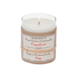Poppy Handmade Fragrant Candle Rankų darbo kvapni žvakė, 180g