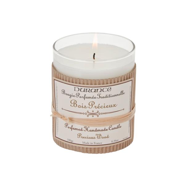 Perfumed Handmade Candle Precious Wood Rankų darbo kvapni žvakė, 180g