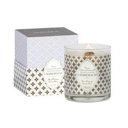 Rankų darbo kvapni žvakė - Precious Wood, 280g