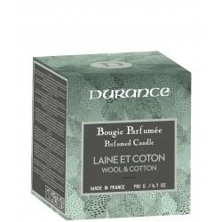 Rankų darbo kvapni žvakė - Wool & Cotton, 190g