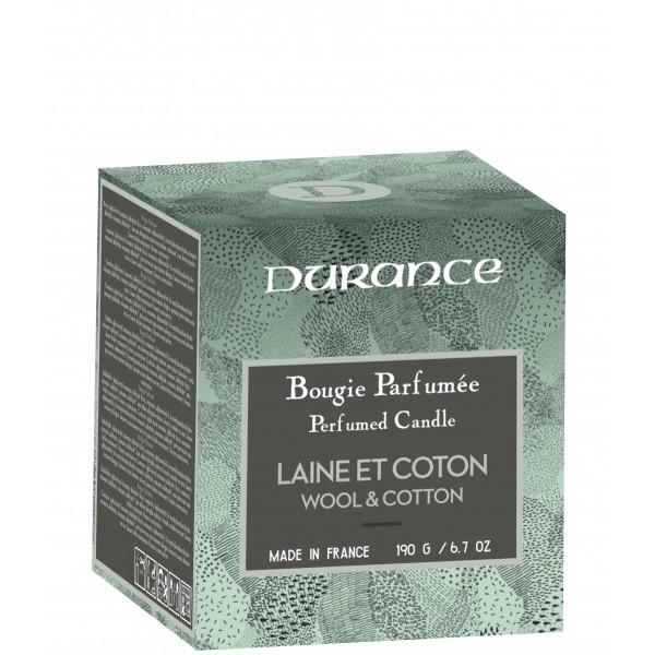 Perfumed Candle Wool & Cotton Rankų darbo kvapni žvakė, 190g
