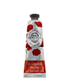 Durance Soft Hand Cream Pretty Poppy Rankų kremas, 30 ml | inbeauty.lt