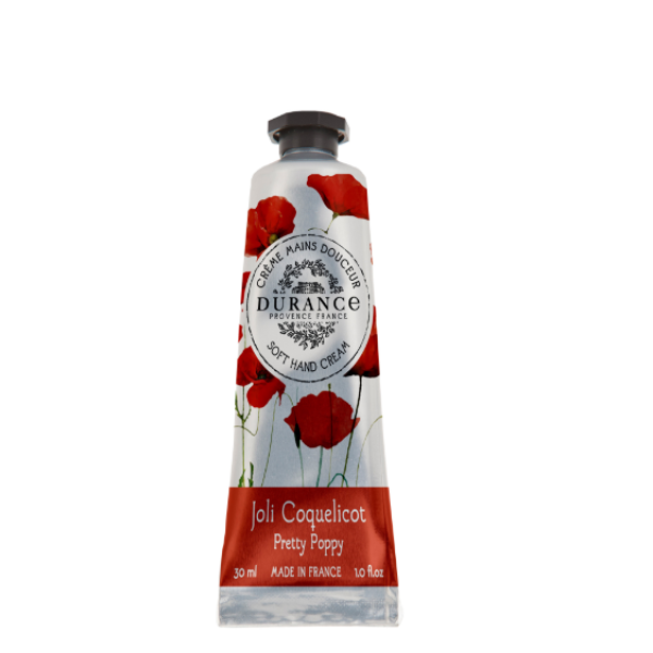 Soft Hand Cream Pretty Poppy Rankų kremas, 30 ml