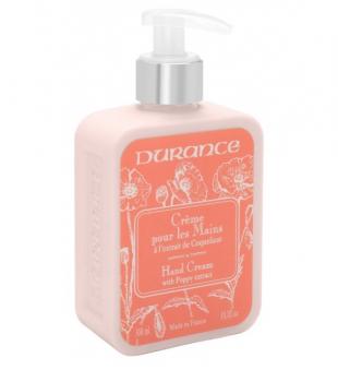 Durance Hand Cream With Poppy Extract Rankų kremas su aguonų ekstraktu, 300 ml | inbeauty.lt