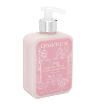 Durance Hand Cream With Rose Oil Rankų kremas su eteriniu rožių aliejumi, 300 ml | inbeauty.lt