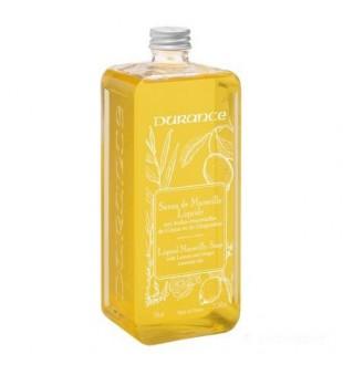 Durance Liquid Marseille Soap With Lemon And Ginger Oils Skystas muilas su eteriniais citrinų ir imbierų aliejais, 750 ml | inbeauty.lt
