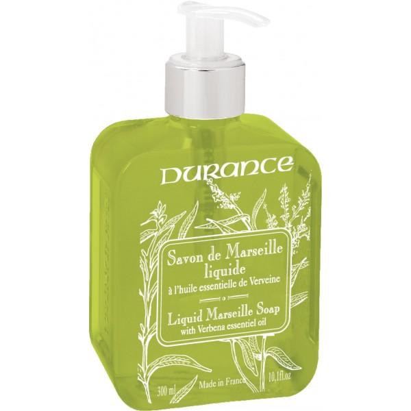 Liquid Marseille Soap With Verbena Essential Oil Skystas muilas su eteriniu verbenų aliejumi, 300 ml