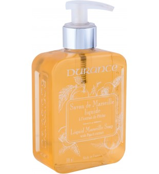 Durance Liquid Marseille Soap With Peach Extract Skystas muilas su persikų ekstraktu, 300 ml | inbeauty.lt