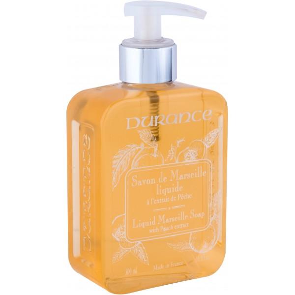 Liquid Marseille Soap With Peach Extract Skystas muilas su persikų ekstraktu, 300 ml
