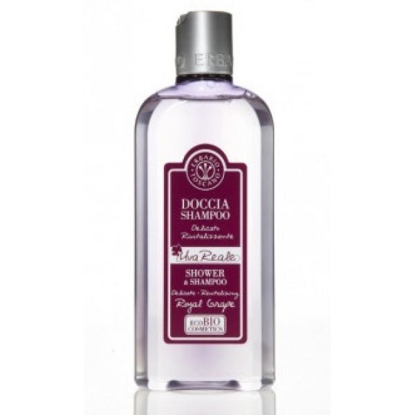 Royal Grape Shower and Shampoo Dušo ir vonios gelis, 250 ml
