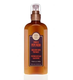 Erbario Toscano Black Pepper Perfumed Body Balm Kvapusis kūno balzamas, 250 ml | inbeauty.lt