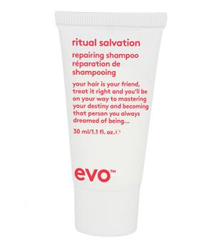 evo Ritual Salvation Repairing Shampoo Puoselėjamasis šampūnas, 30ml | inbeauty.lt