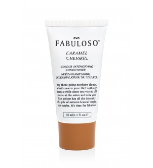 evo Fabuloso Caramel Colour Intensifying Conditioner Spalvos palaikymo kondicionierius, 30 ml | inbeauty.lt