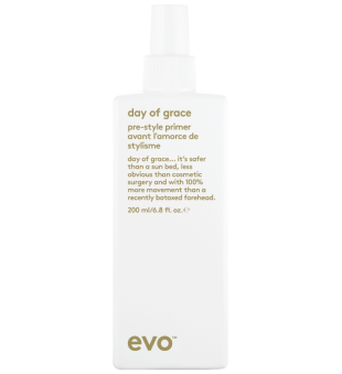 evo Day Of Grace Pre-Style Primer Nenuplaunamas kondicionierius, 200ml | inbeauty.lt
