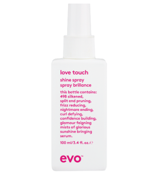 evo Love Touch Shine Spray Spindesio purškalas, 100ml | inbeauty.lt
