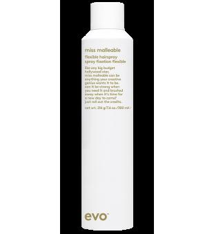 evo Miss Malleable Flexible Hairspray Stiprios fiksacijos užbaigimo lakas, 300ml | inbeauty.lt