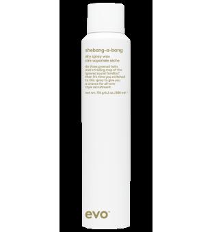 evo Shebang-a-bang Dry Wax Spray Sausas purškiamas plaukų vaškas, 200ml | inbeauty.lt