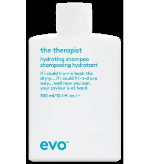 evo The Therapist Hydrating Shampoo Raminamasis šampūnas, 300ml | inbeauty.lt