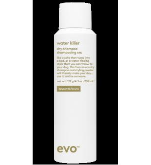evo Water Killer Dry Shampoo Brunette Sausas šampūnas, 200ml | inbeauty.lt