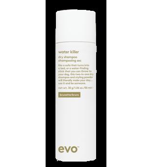 evo Water Killer Dry Shampoo Brunette Sausas šampūnas, 50ml | inbeauty.lt