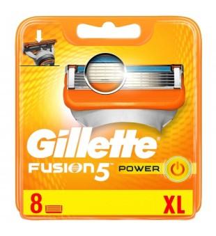 Gillette Fusion Power skustuvo galvutės, 8vnt. | inbeauty.lt