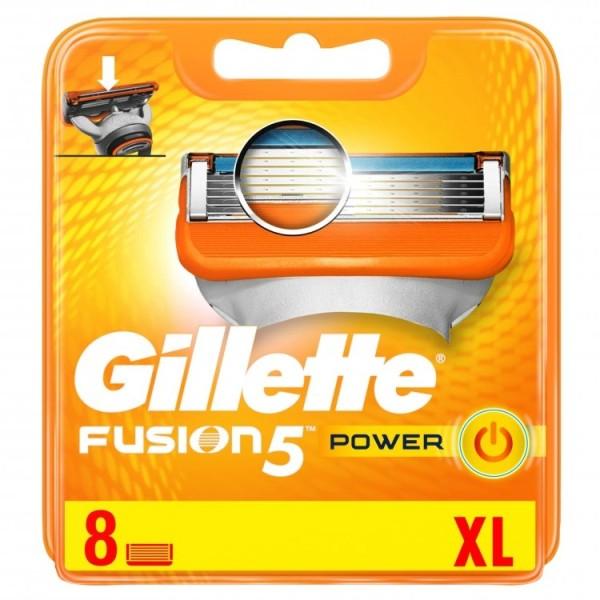 Fusion Power skustuvo galvutės, 8vnt.