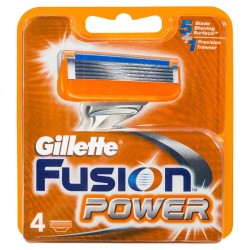 Fusion Power skustuvo galvutės, 4vnt.