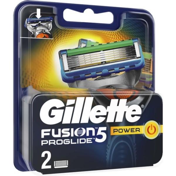 Fusion Proglide Power skustuvo galvutės, 2 vnt.
