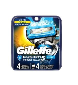 Gillette Fusion Proshield Chill Skustuvo galvutės, 4vnt | inbeauty.lt