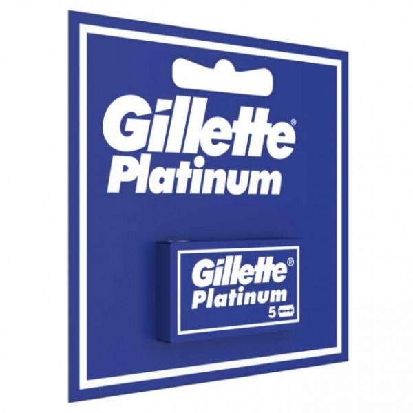 Platinum Dviašmeniai skutimosi peiliukai, 5vnt