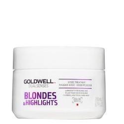 Dualsenses Blondes & Highlights 60sec Treatment Atkuriamoji kaukė, 200ml
