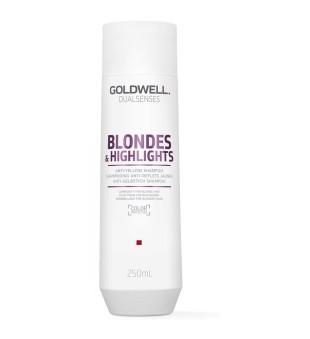 Goldwell Dualsenses Blondes & Highlights Anti-Yellow Shampoo Šampūnas šviesintiems plaukams, 250ml | inbeauty.lt